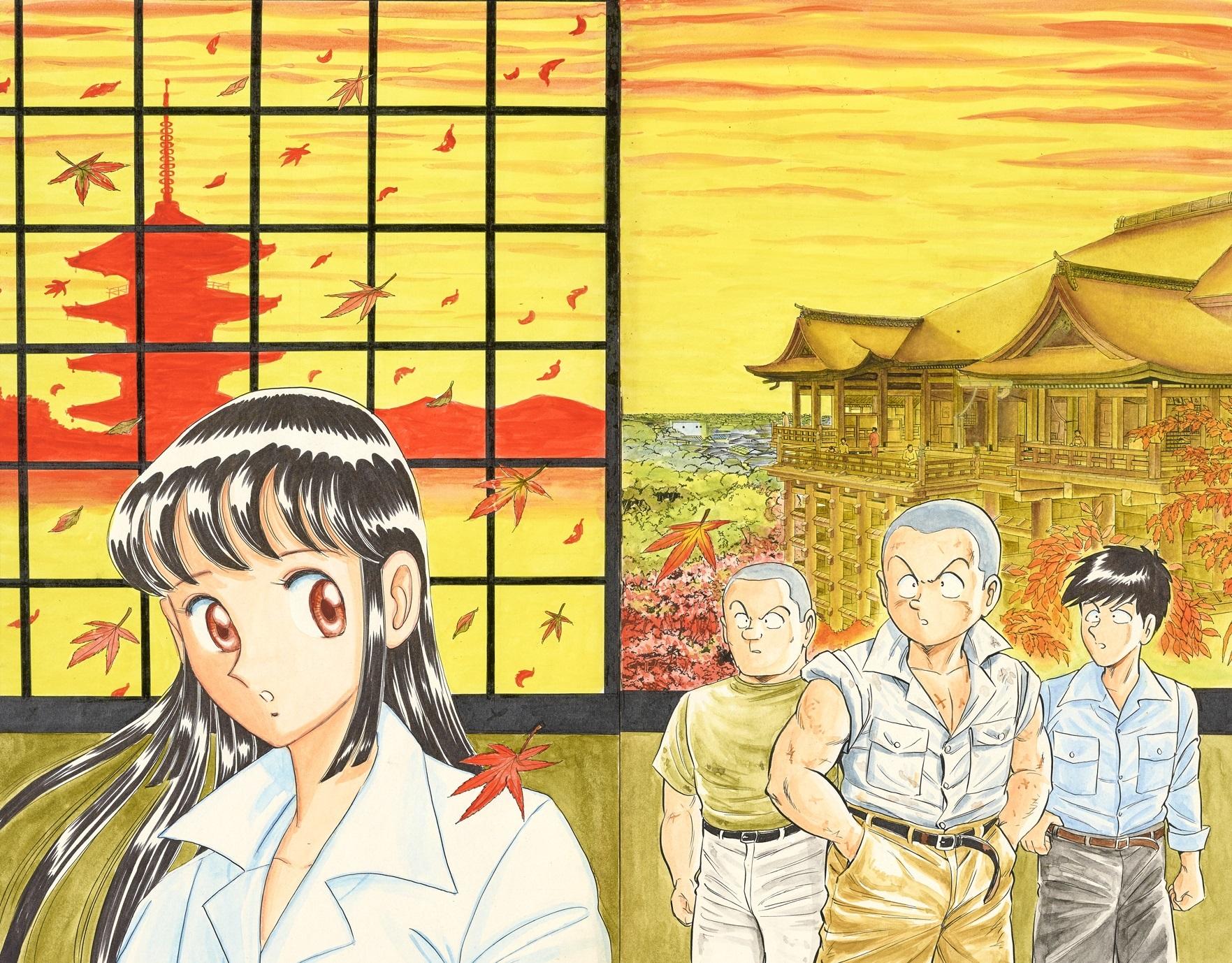 ジャンプコミックス102巻「古都の走馬灯の巻」原画(5月1日~5月14日展示)