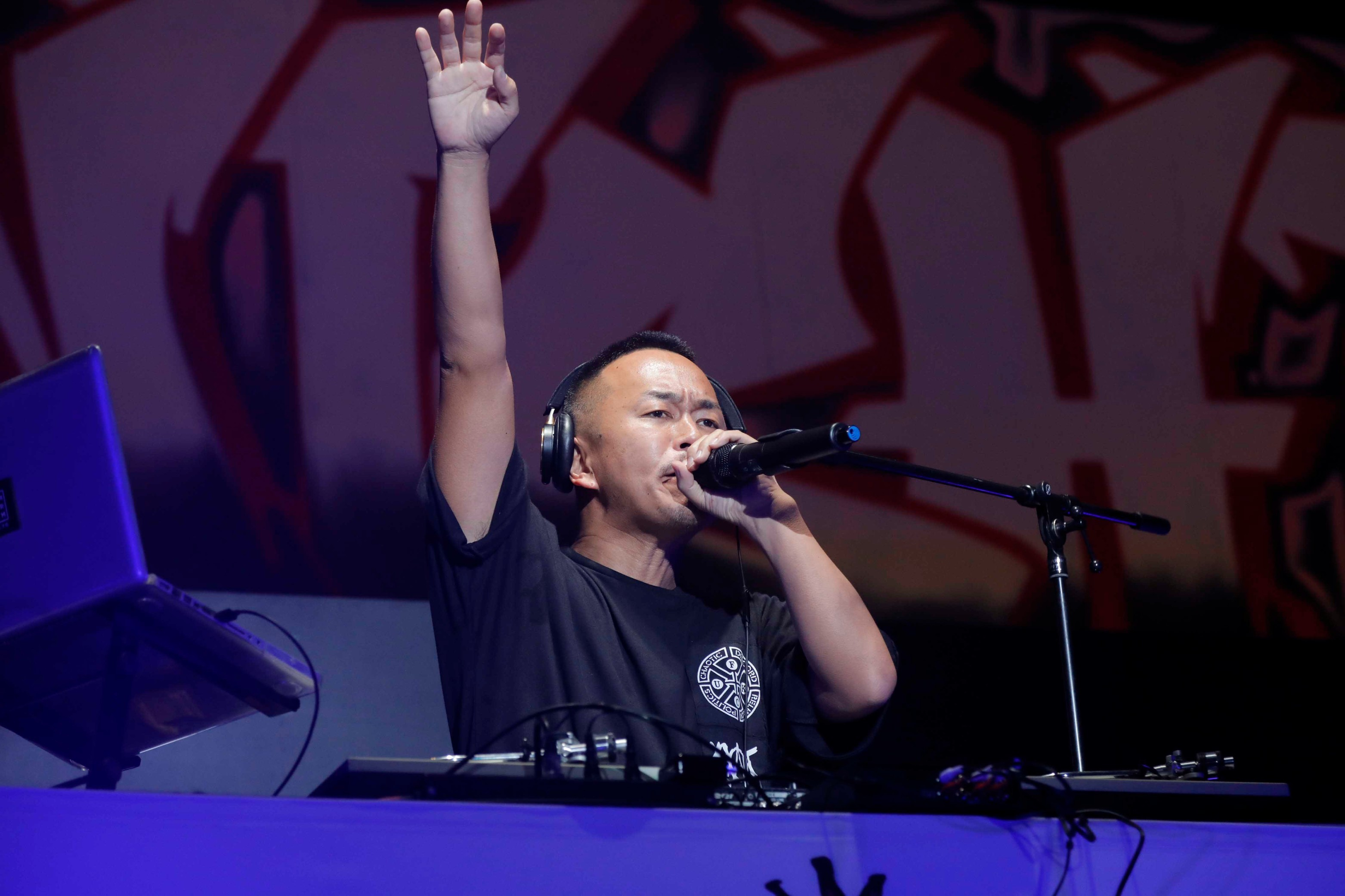 DJ LEAD photo by HAJIME KAMIIISAKA
