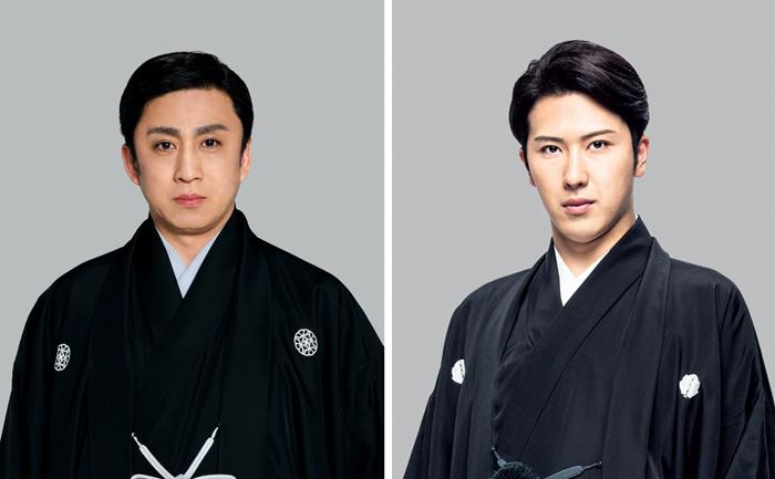 (左から)松本幸四郎、尾上松也