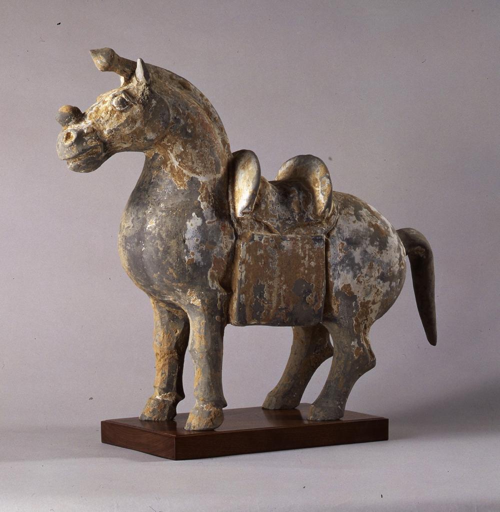 馬俑:中国、 3~4世紀(馬事文化財団 馬の博物館)