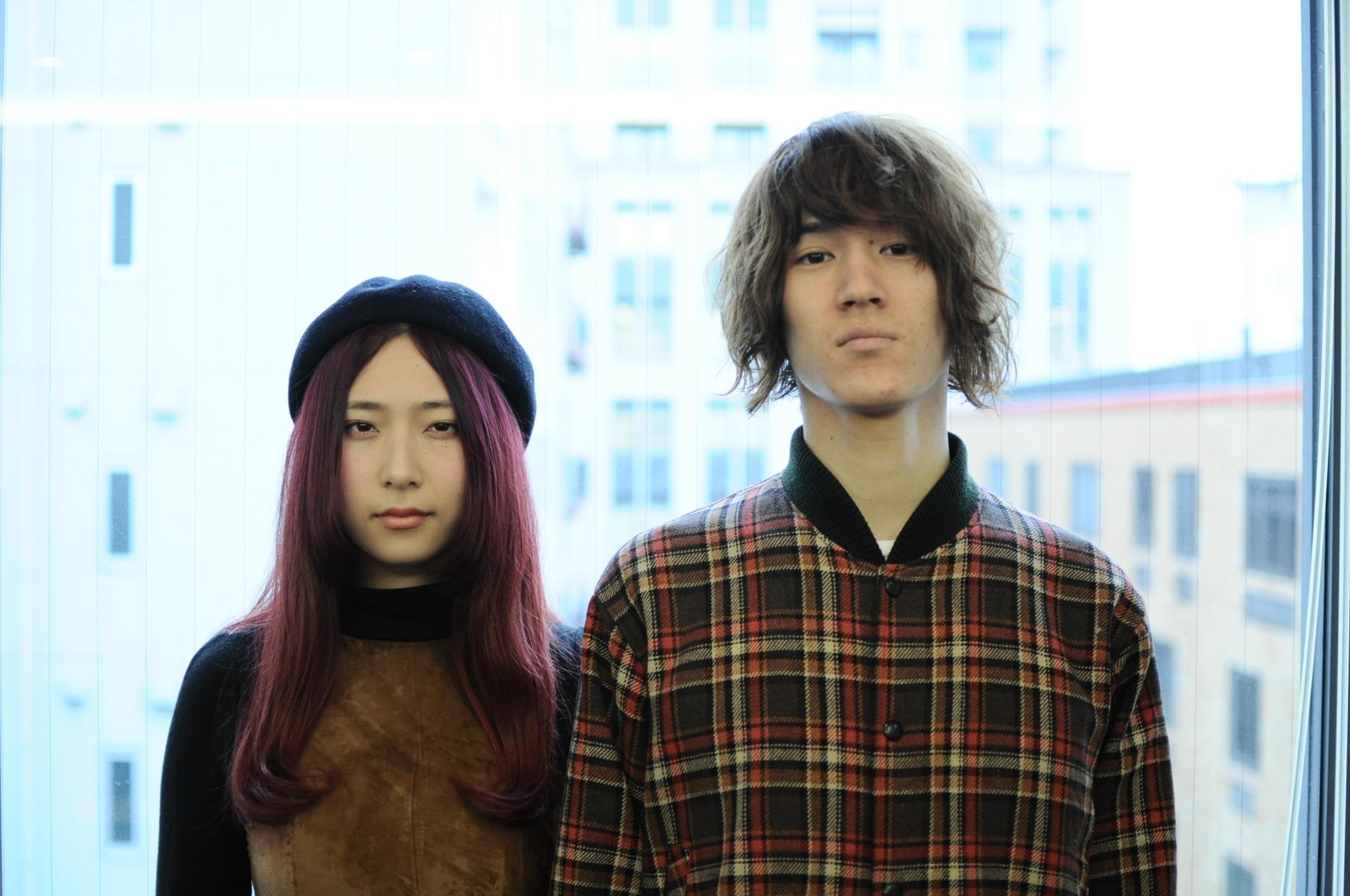 GLIM SPANKY  Photo by Taiyo Kazama