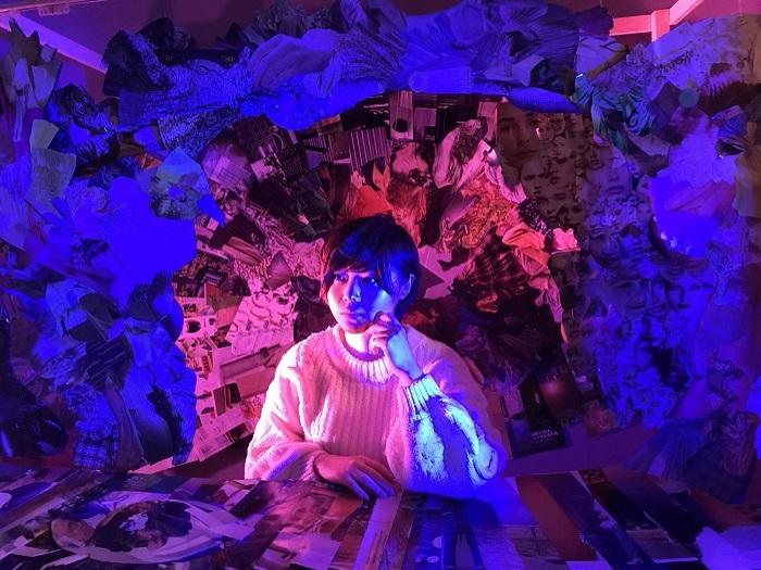 『1.Block.Planet.3-the blue bird!-』(2021年)は映像作品として発表。 ©ユリイカ百貨店