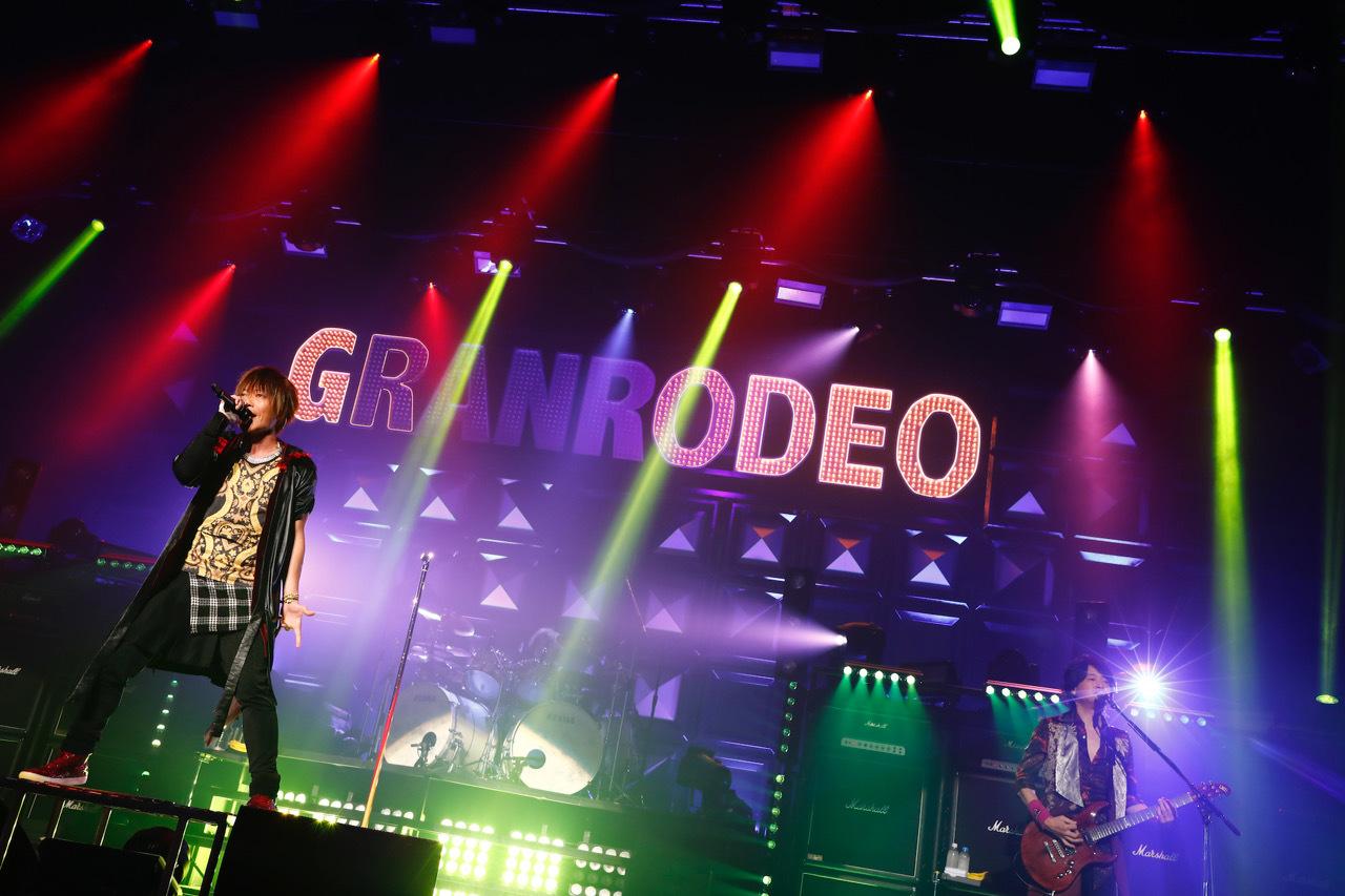 GRANRODEO ライブ写真 撮影=キセキミチコ