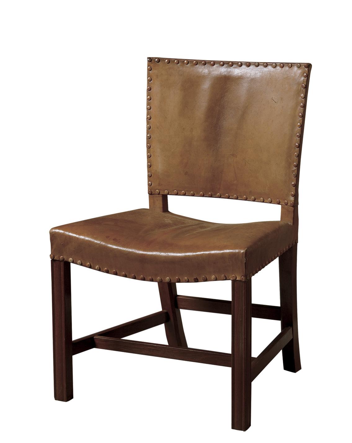 コーオ・クリント 椅子 KK37580〈レッドチェア〉 1927年 ルド・ラスムッセン工房 デンマーク・デザイン博物館 Photo:Designmuseum Danmark/Pernille Klemp