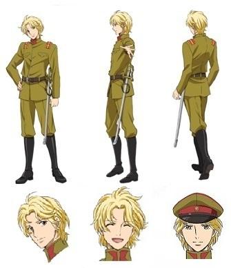 少尉設定画 (C)大和和紀・講談社/劇場版「はいからさんが通る」製作委員会