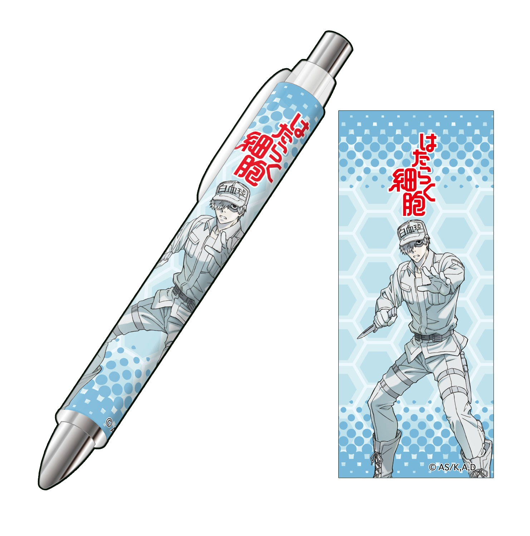 E賞:ボールペン 白血球(好中球) (C)清水茜/講談社・アニプレックス・davidproduction