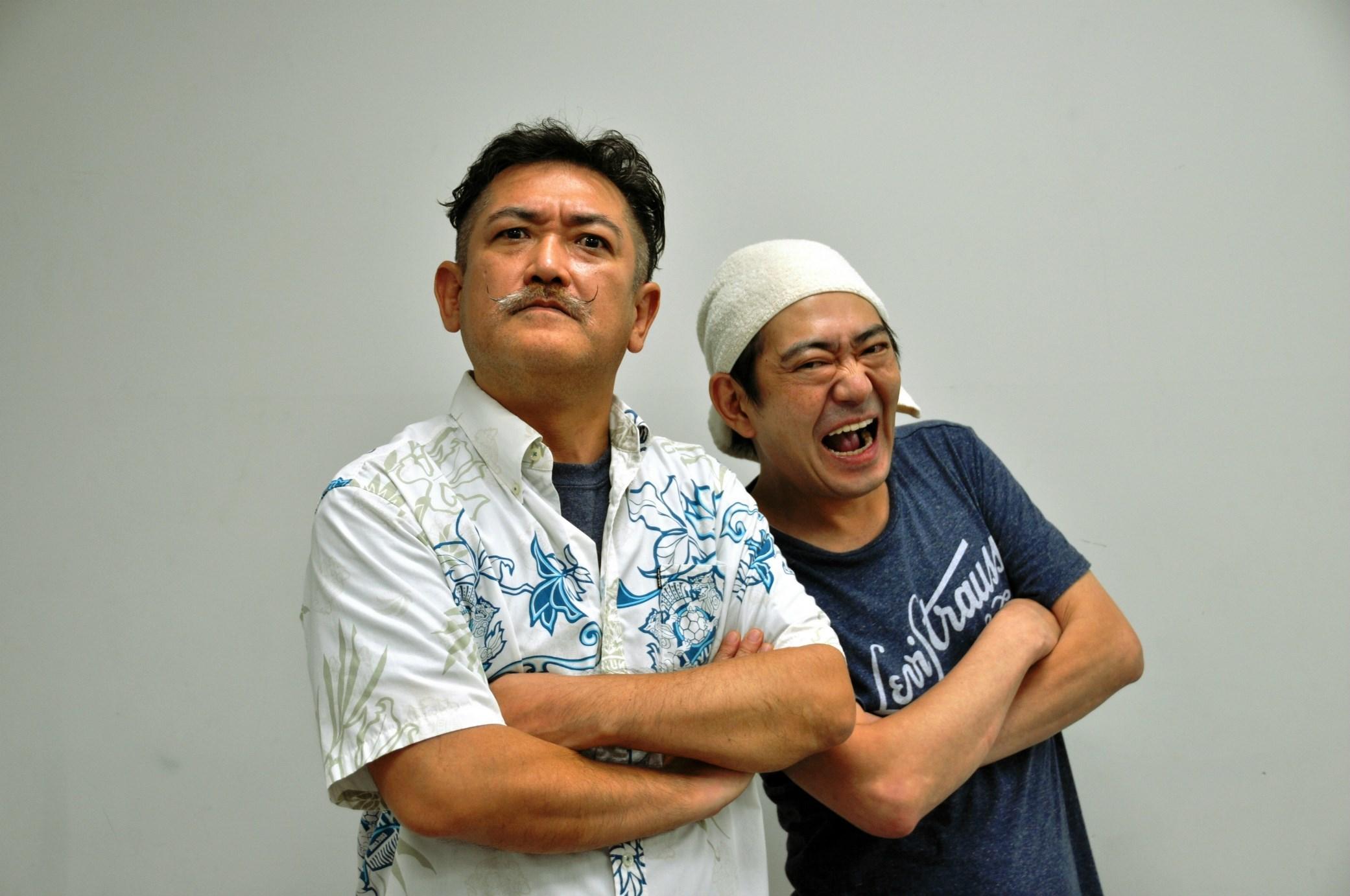後藤ひろひとと黒田有(メッセンジャー) [撮影]吉永美和子(このページすべて)