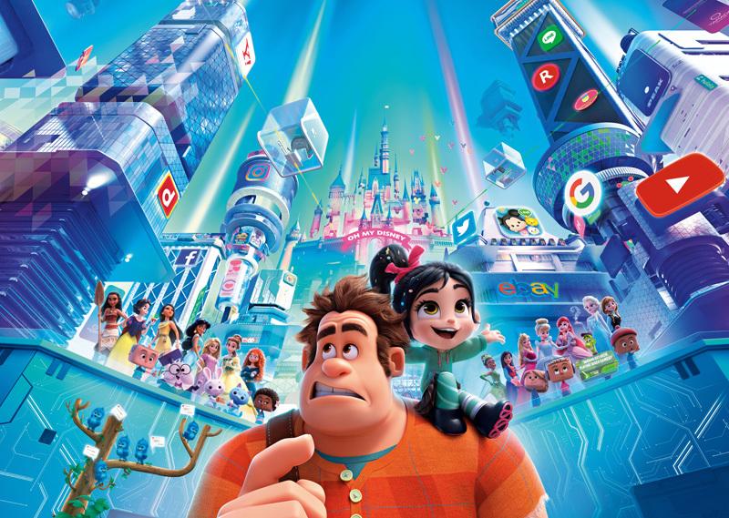 映画『シュガー・ラッシュ:オンライン』 (c)2018 Disney. All Rights Reserved.