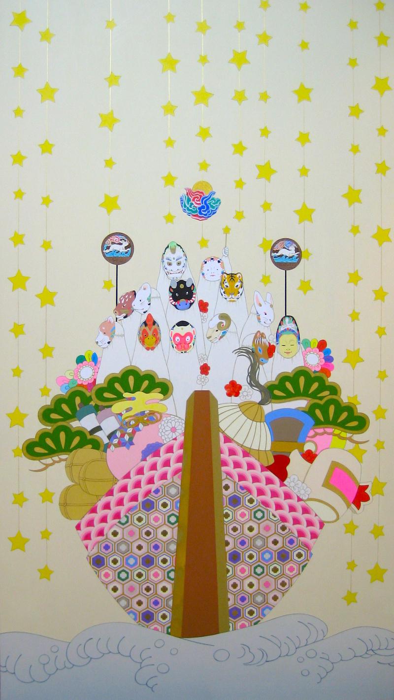 永島千裕 個展「神のまにまに」