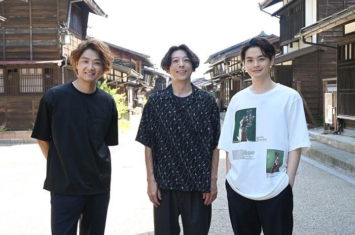 『美しい日本に出会う旅 2時間スペシャル』(左から)井上芳雄、高橋一生、瀬戸康史