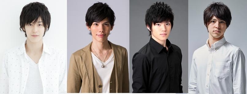 【写真 左から】本田礼生、 健人、 佐藤祐吾、 森田桐矢