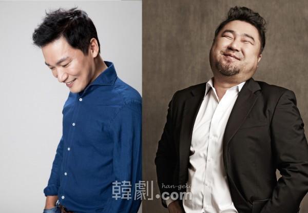 医師デュプル役のチョ・ジェユンとコ・チャンソク ©FNCエンターテインメント/©SHOWNOTE