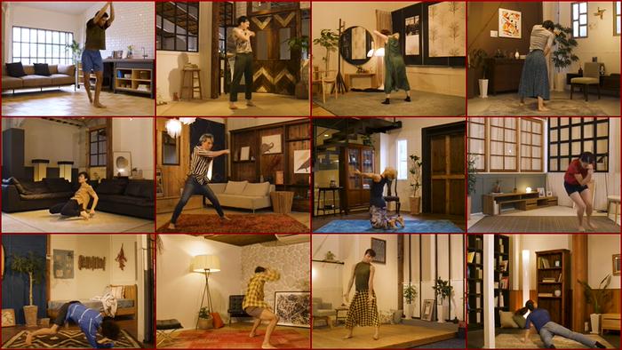 映像舞踊『BOLERO 2020』より画像引用