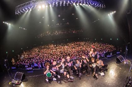 jealkb、メジャーデビュー10周年の集大成となるワンマンライブを開催「俺達じゃない、お前らが成功させてくれた」
