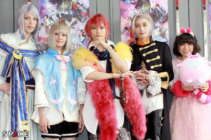 徳山秀典「はじけっぷりを楽しんで」 『歌劇派ステージ「ダメプリ」ダメ王子VS完璧王子』が開幕!