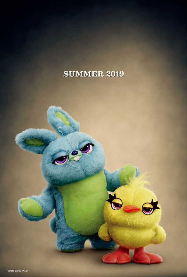 ダッキー&バニー (C)2019 Disney/Pixar. All Rights Reserved.