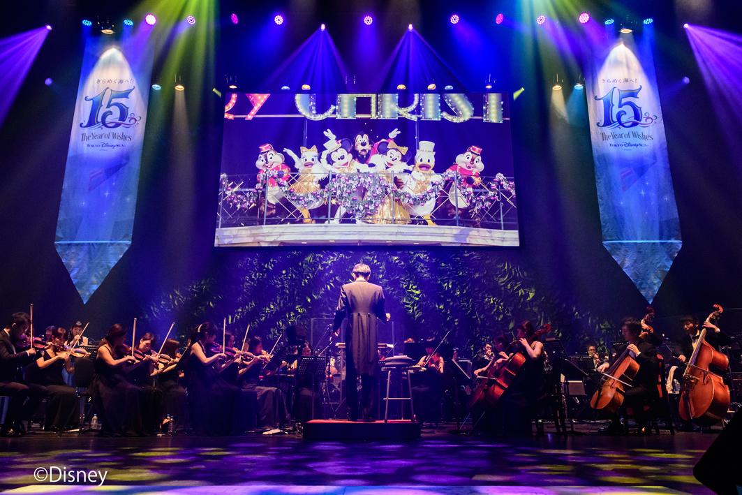 """東京ディズニーシーR15周年""""ザ・イヤー・オブ・ウィッシュ""""イン・コンサート"""