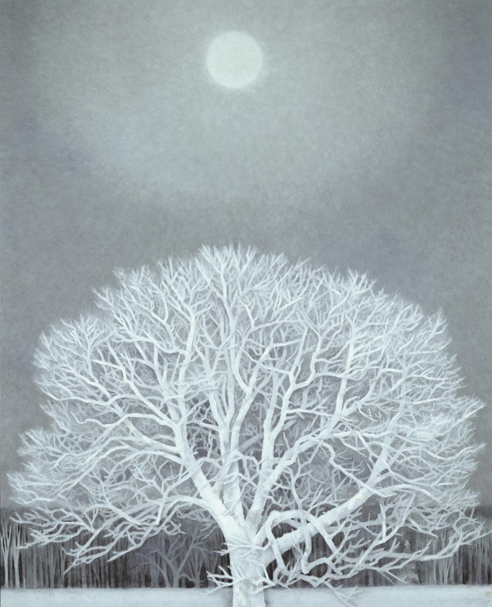 《冬華》1964年、東山魁夷、東京国立近代美術館蔵