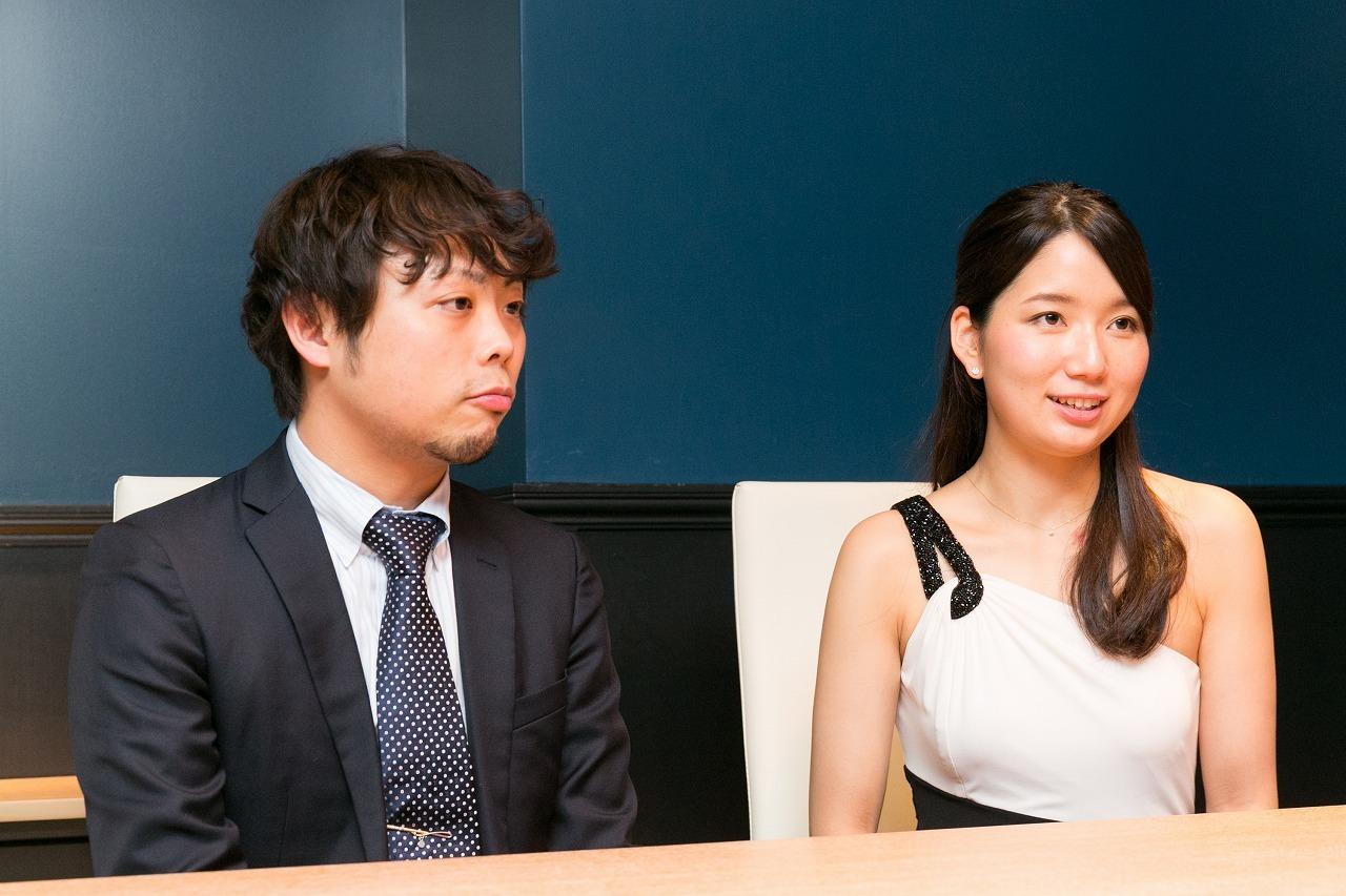 (左から)吉武優、鈴木愛理