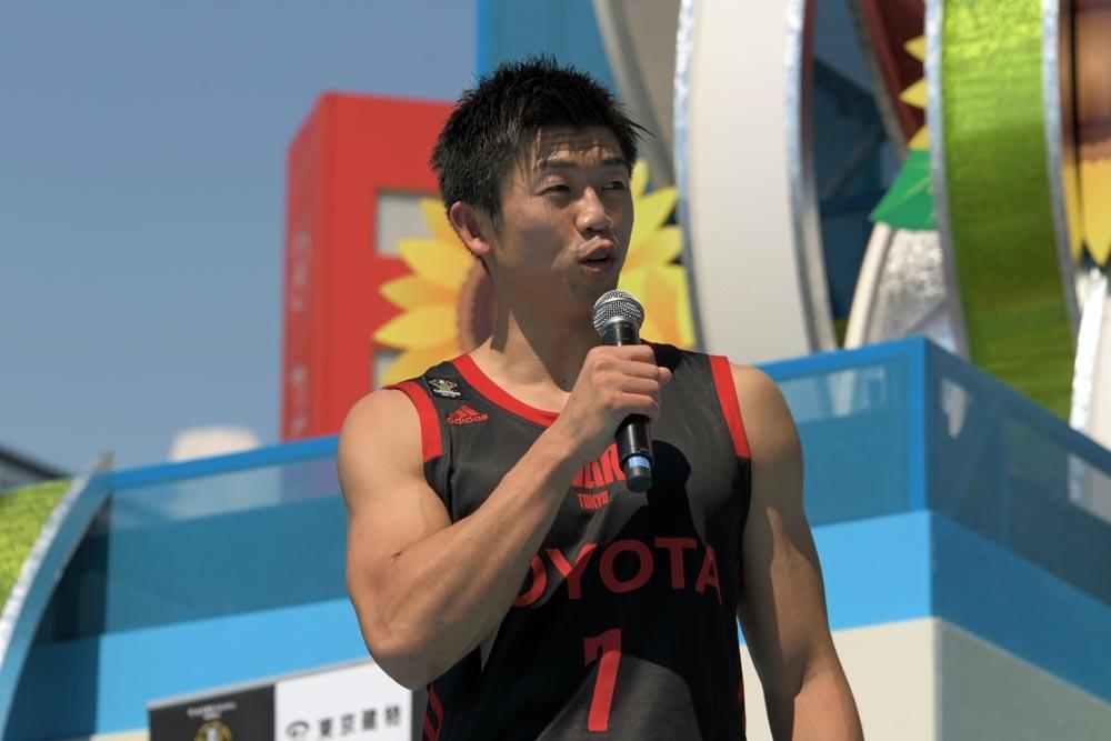 大会2連覇を狙うアルバルク東京の正中岳城は、今大会を機にリーグ戦で良いスタートを切りたいはず