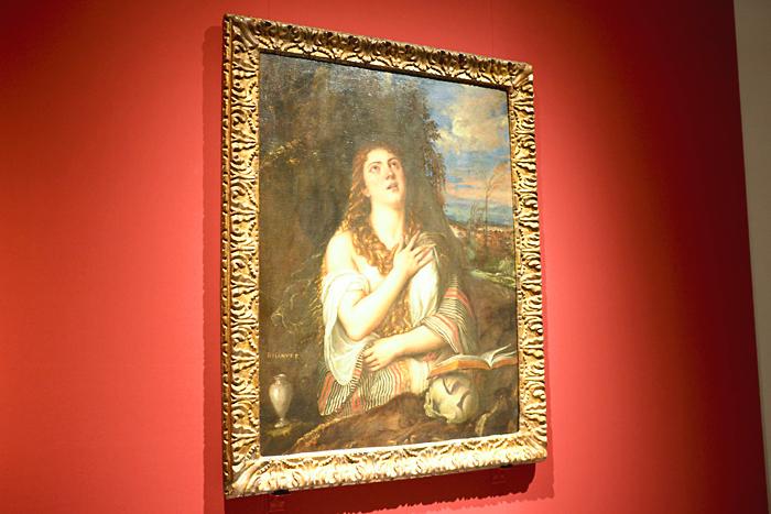 ティツィアーノ・ヴェチェッリオ《マグダラのマリア》1567 年、ナポリ、カポディモンテ美術館