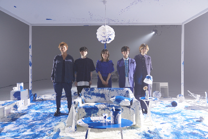 BLUE ENCOUNT 川口春奈出演の「ハミングバード」MV撮影の裏側を公開 壁を壊し、青いペンキを塗りたくる様子も