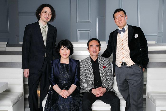 左から日澤雄介、池谷のぶえ、高橋和也、鳥山昌克 (写真撮影=中原義史)