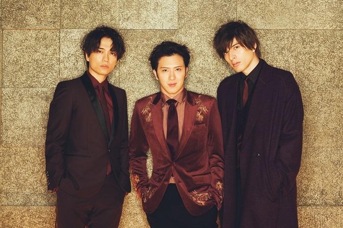IMY(左から、山崎育三郎、尾上松也、城田優)