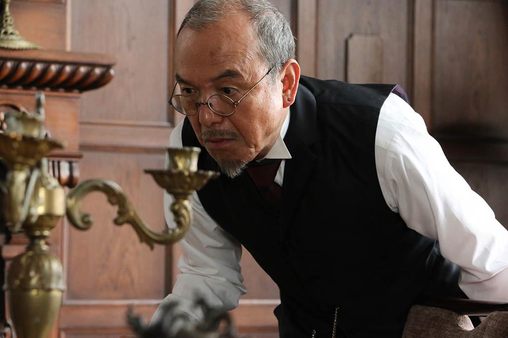 ゴンザ役 螢雪次朗 (C)2019「月虹ノ旅人」雨宮慶太/東北新社