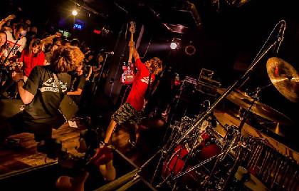 HOTSQUALL主催「ONION ROCK FES」にNAMBA69、ヘイスミ、シクセブら