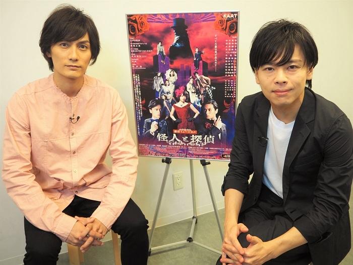 写真左から 加藤和樹 中川晃教