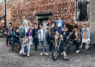 THE RAMPAGE from EXILE TRIBE、単独で初の全国ツアー開催決定