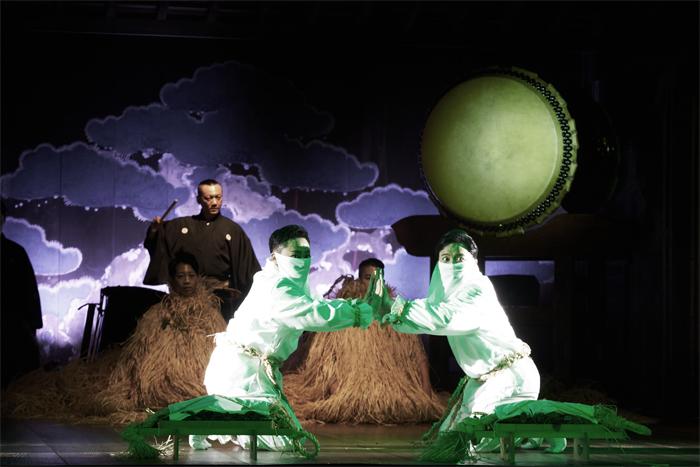 「中村壱太郎×尾上右近 ART歌舞伎」 ~ 三幕「祈望祭事」