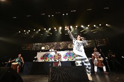 AIが『ドラムストラック』の10周年記念アンバサダーに就任、公演への楽曲提供も