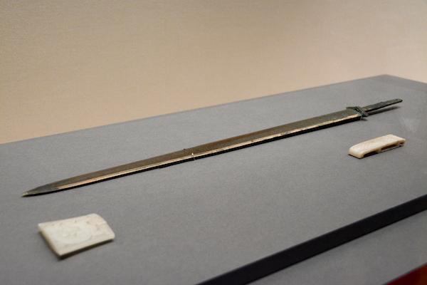 《玉装剣(ぎょくそうけん)》 前漢時代・前2世紀 河北博物院蔵