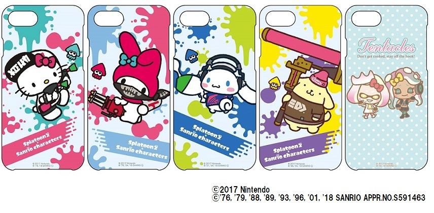 iPhoneケース 5種類