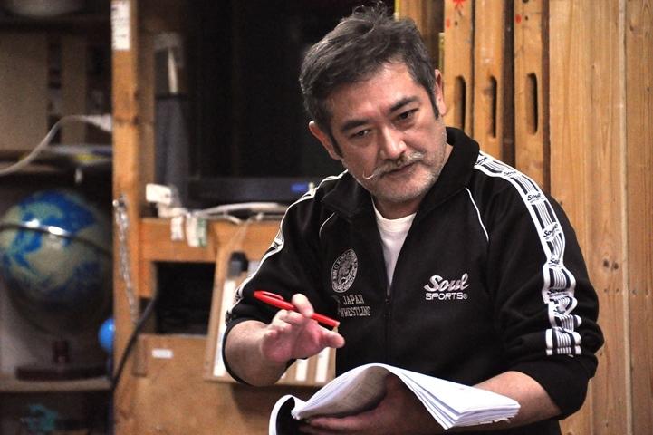 「すっごい面白いものができた」と、本作の自信を語る後藤ひろひと。