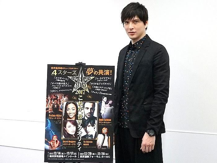 『4Stars』合同取材会にて
