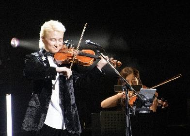 ヴァイオリニストのNAOTOがデビュー15周年記念ライブをBunkamuraオーチャードホールで開催