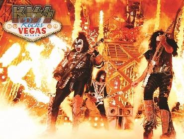 『KISS Rocks VEGAS』1夜限り&1劇場限定のジャパン・プレミア上映会開催