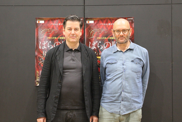 (左)セバスティアン・ヴァイグレ、(右)リチャード・ジョーンズ