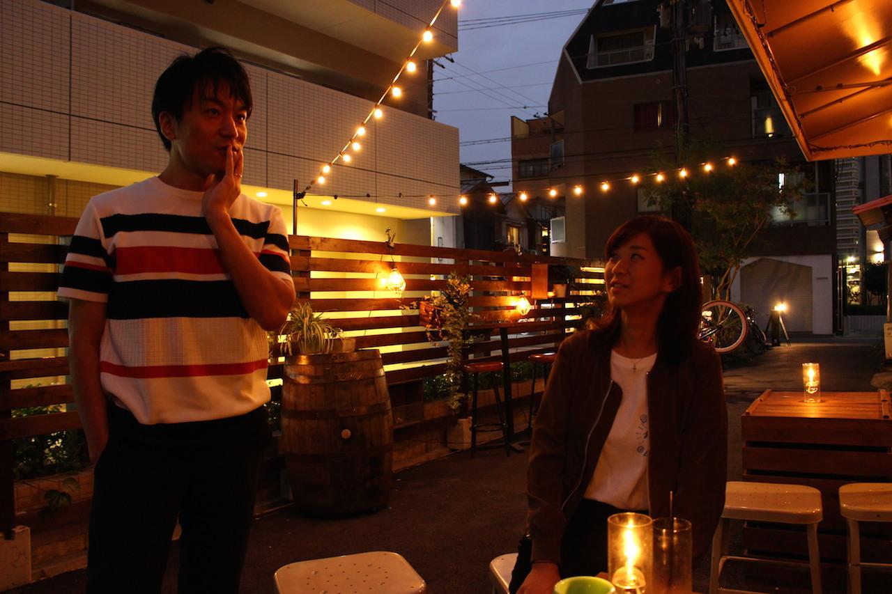 飯室大吾(写真、左)・たっちゃん(写真・右)