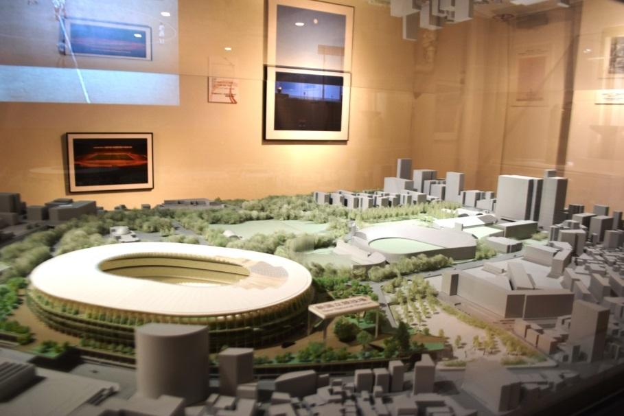 「スポーツの聖地 外苑:青山」 期間限定で新国立競技場の完成模型も特別展示