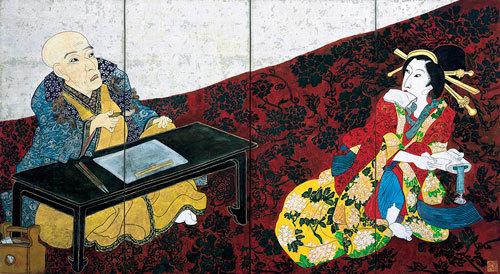 ⑥片岡球子《面構 国貞改め三代豊国》1976年_神奈川県立近代美術館