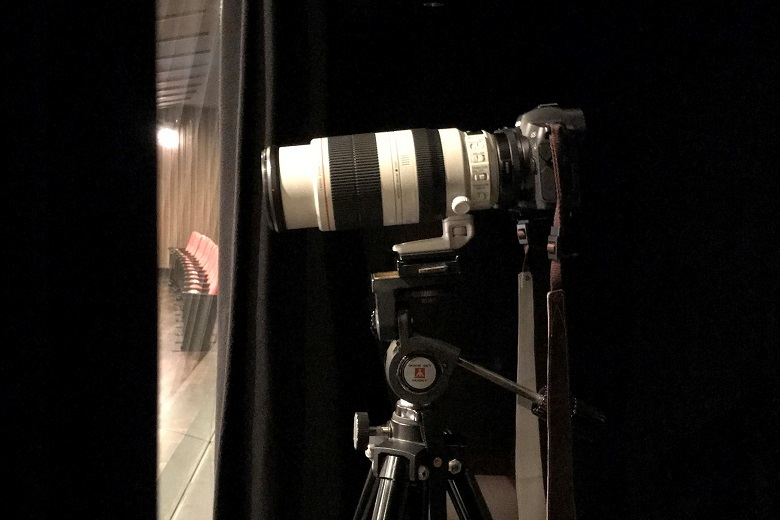 愛用のカメラ  (C)飯島隆