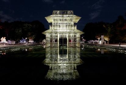 上野公園に巨大な楼閣が出現! 上野を舞台にしたアートフェス『TOKYO数寄フェス2017』が開幕