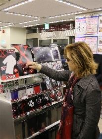 YOSHIKI ローソンで「X JAPANくじ」に挑戦