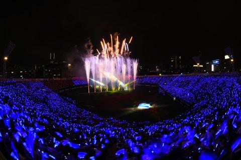 昨年の『BLUE☆LIGHT SERIES』の様子