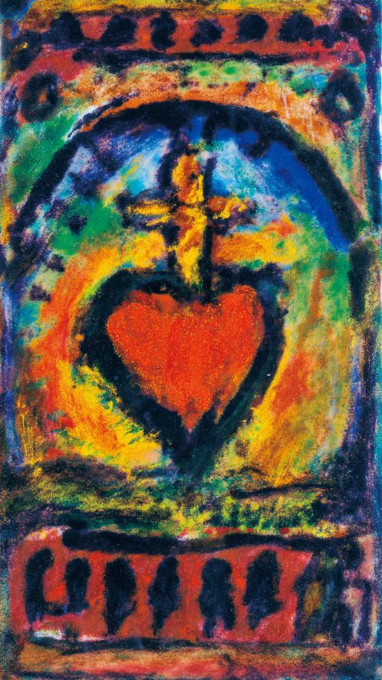 《聖心》1951年 七宝 ヴァチカン美術館蔵