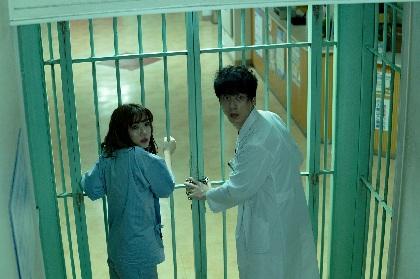 坂口健太郎と永野芽郁が不気味なピエロたちに追い詰められる 映画『仮面病棟』特報映像を公開
